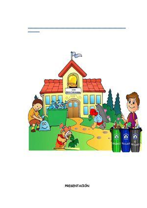 Limpiando los residuos - 3 4