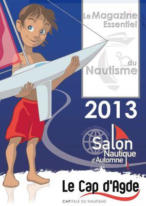 Calam o catalogue salon nautique du cap d 39 agde 2013 for Salon nautique cap d agde 2017