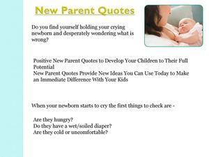 Calaméo - Quotes New Parent