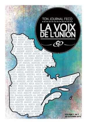 28/10/2013 - La voix de l'union - Journal FECQ
