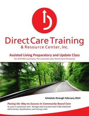Assisted Living Prep and Update Critical Skill Through 2-2014