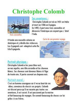 biographie christophe colomb en espagnol