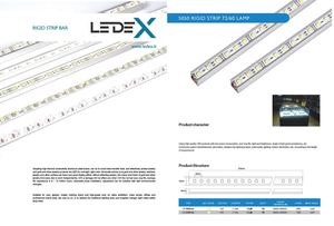 LedeX LED Strips rigide