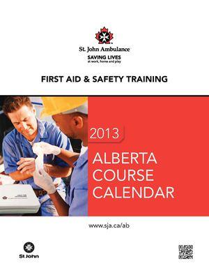calaméo sja ab training calendar 2013