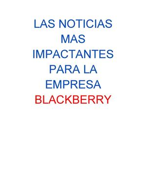 BLACKBERRY..