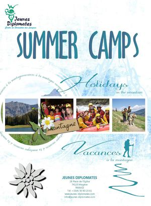 SUMMER CAMP JEUNES DIPLOMATES SUMMER 2014 English