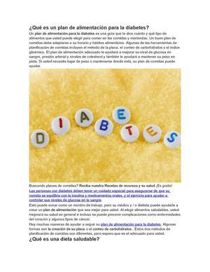 El método de la placa para la planificación de comidas con diabetes
