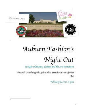 Auburn Fashion Night Out