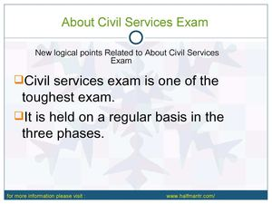 Find Latest content For about Civil Services Exam