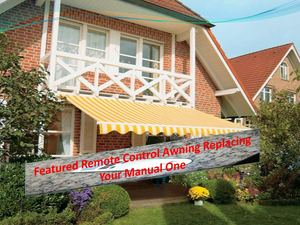 Featured Remote Control Awning Replacing Your Manual One