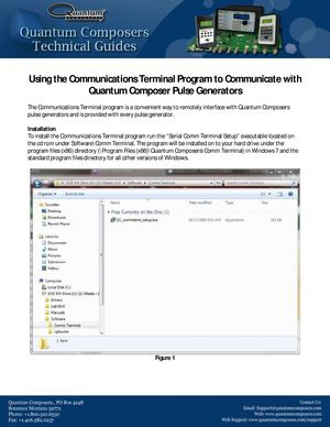 Tech Guides- Using the Communications Terminal