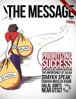 The Message - Volume IV: Issue 2 (Fall 2013)