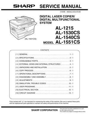 sharp al 1540cs drivers download rh goltigre top sharp al1530cs manual Sharp ER-A170