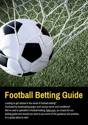 terms used in football betting