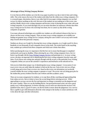 Calamo  Advantages Of Essay Writing Company Reviews Advantages Of Essay Writing Company Reviews