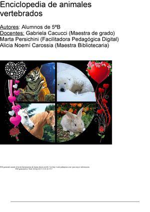 Calaméo - Enciclopedia de Animales Vertebrados