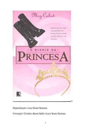 Calaméo - 1.0. Diário da princesa - O Diário da Princesa  Meg Cabot  9cd3a0f857