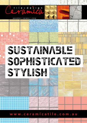 Ceramica Tile + Design, Adelaide — Trend Sustainable Mosaic Tiles