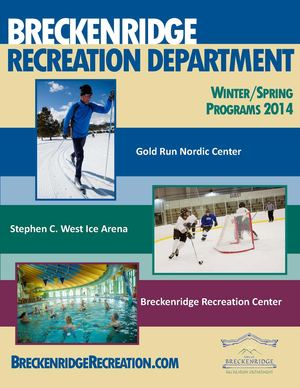 Breckenridge Recreation Department 2014 Spring Brochure