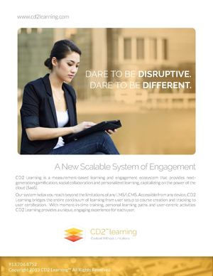 SAP/CD2 Learning Brochure
