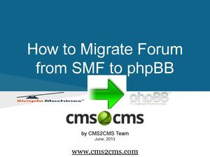 Migrating from SMF to phpBB Automatedly
