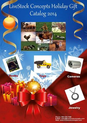 LiveStock Concepts Holiday Gift Catalog 2014