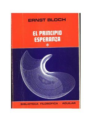 Calaméo - EL PRINCIPIO ESPERANZA TOMO I