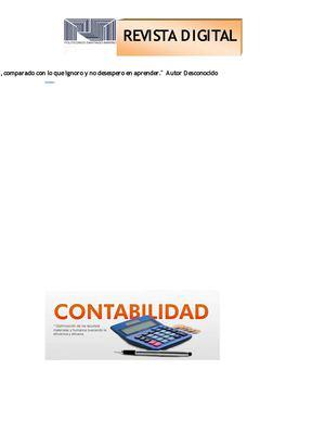 Calaméo - HOJA DE TRABAJO CONTABILIDAD