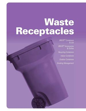 Waste & Receptacles