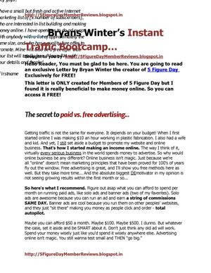 Bryan Winter's Instant Traffic Bootcamp- Boost your Online Traffic instantly