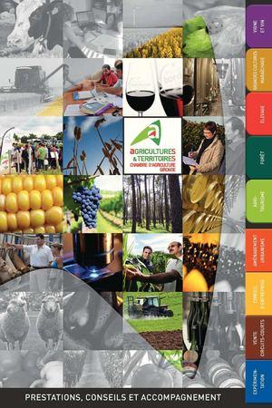 Calam o catalogue des prestations chambre d - Chambre agriculture gironde ...