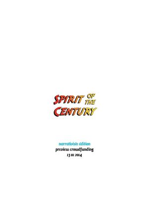 Spirit of the Century VF, preview