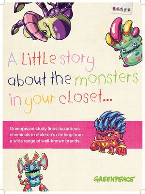 A little story about the monsters in your closet