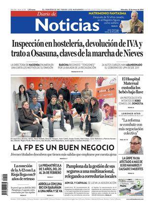 best website 566c8 4ed10 Diario de Noticias 20140122