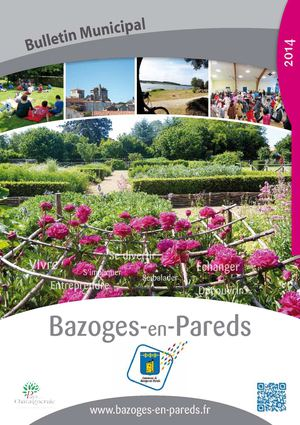 Bulletin municipal 2014 - Bazoges en Pareds