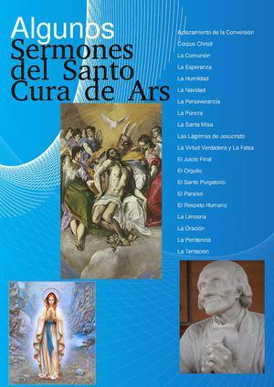Calaméo - Sermones Escritos del santo Cura de Ars 9df152fef7ddb