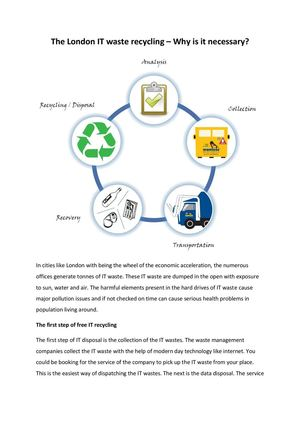 Calaméo - The London IT waste recycling – Why is it necessary?