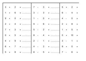 Calameo Cp Mathematiques Calcul Exercice Simple Additions En Ligne