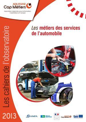 Calameo Metiers Des Services De L Automobile Cahiers De L