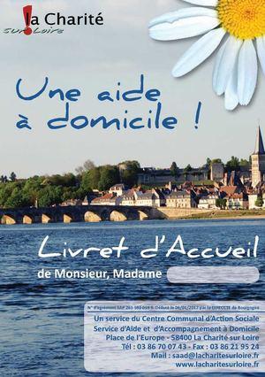 Livret Daccueil Du SAAD Municipal