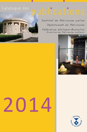 Catalogue des publications 2014