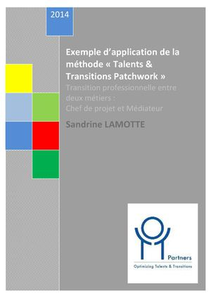 Exemple d'application de la méthode « Talents & Transitions Patchwork »