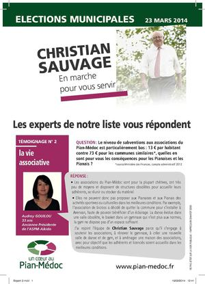Tract expert n°2 sur les associations