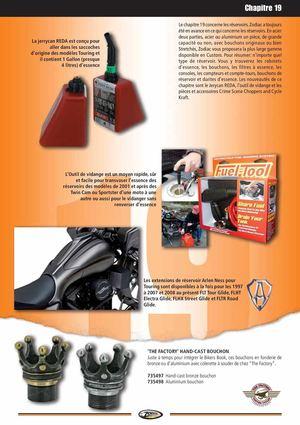 etc. Bouchon de réservoir pour Harley Davidson à partir de 1983 Sportster Dyna