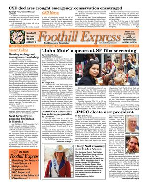 Foothill Express - March 2014