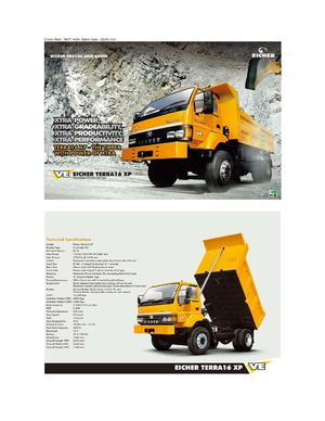 Terra 16 XP - Tipper Trucks