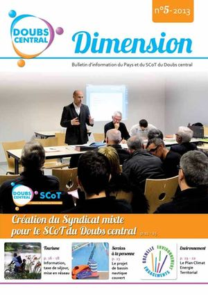 Bulletin d'information du Pays et du SCoT du Doubs central