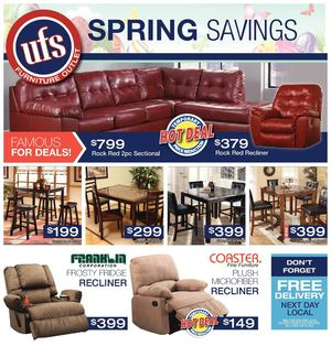UFS Furniture Deals