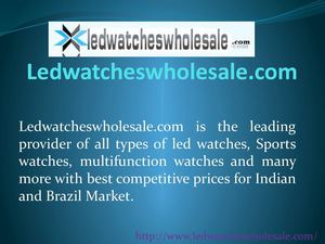 Buy Fashion Men/Women Watches India-Brazil