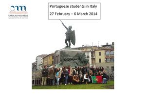 Portuguese students in Italy - Feb - March 2014.pdf